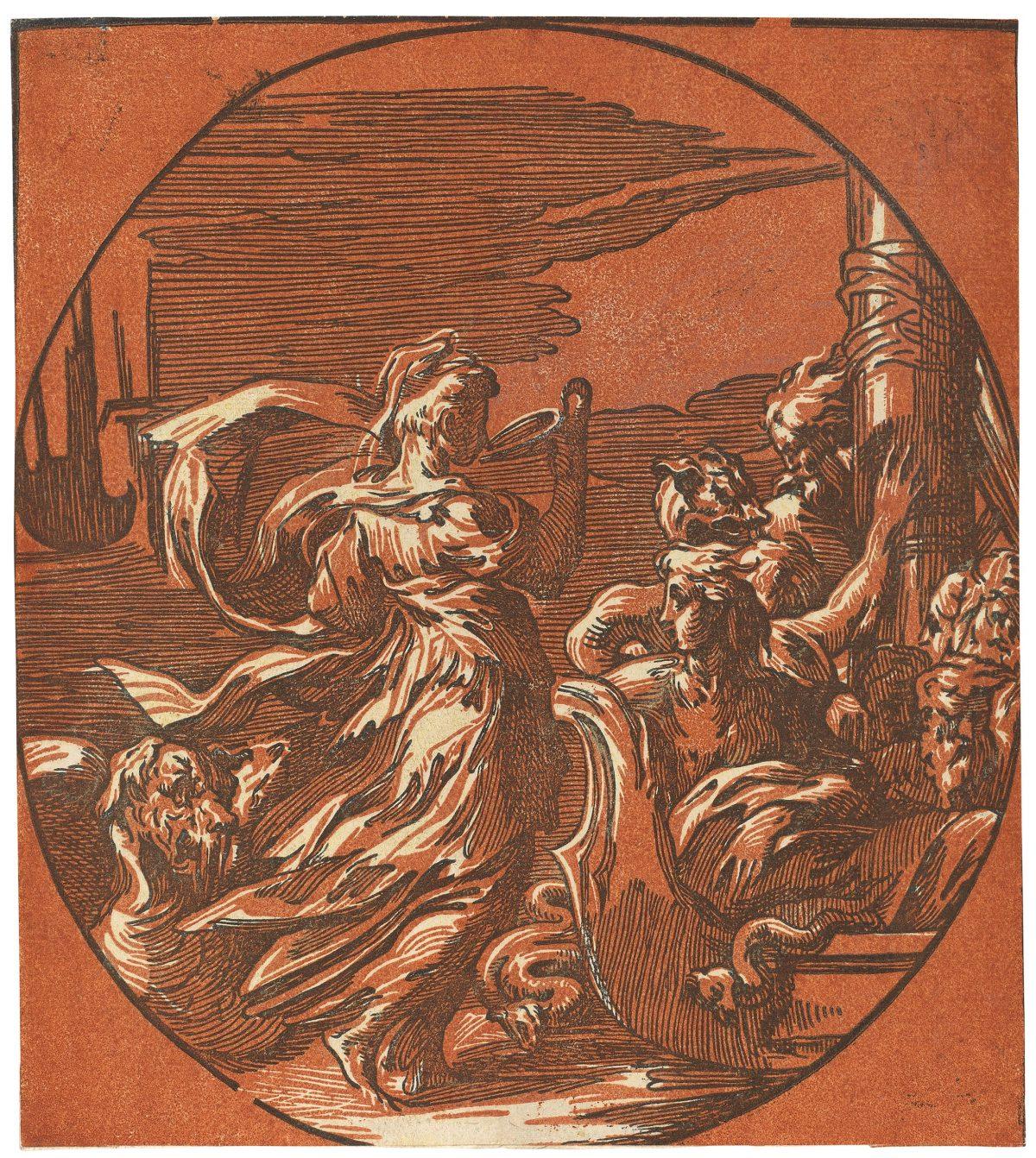 Circe lady drinking myth