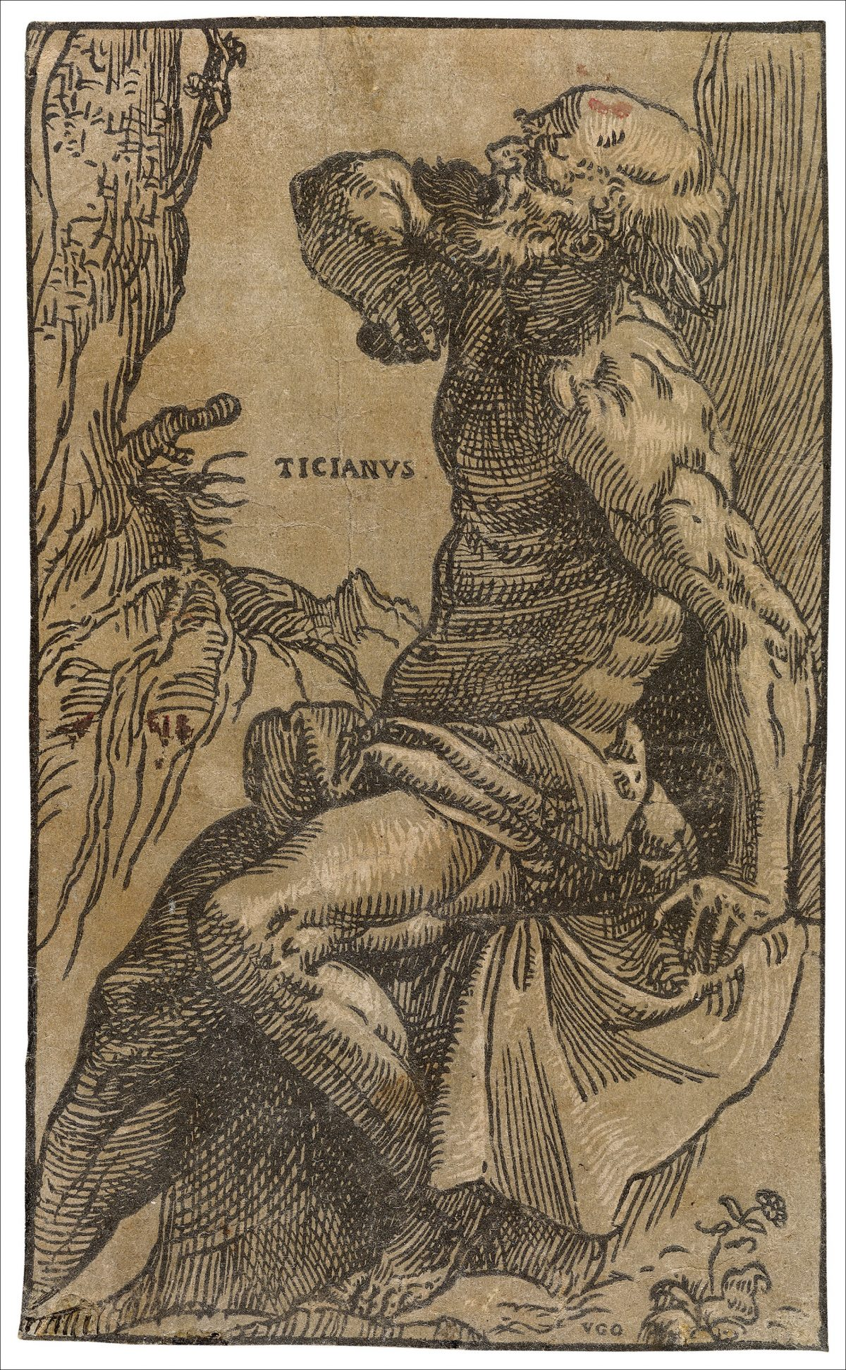 Saint Jerome classical art chiaroscuro