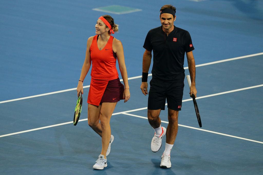 Serena beats Bencic in US-Switzerland match at Hopman Cup