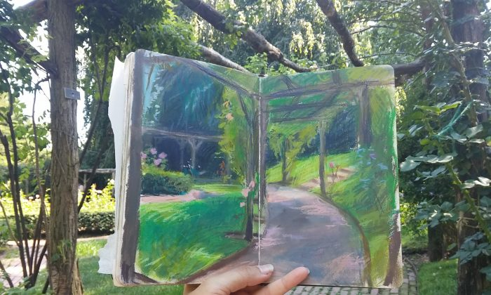 Sketchbook by Diana Corvelle. (Courtesy of Sugarlift)