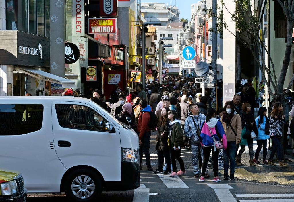 Car attack injures 8 pedestrians in Tokyo during New Year's festivities