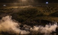 Border Patrol Fires Tear Gas to Disperse 150 Caravan Migrants Trying to Illegally Cross Border