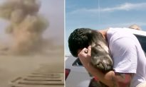 Ex-army had to leave dog in Iraq. 1 month later, they reunite on the other side of the world