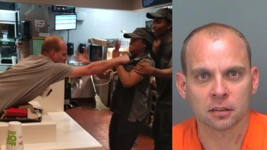 altercation in McDonalds and the perpetrator