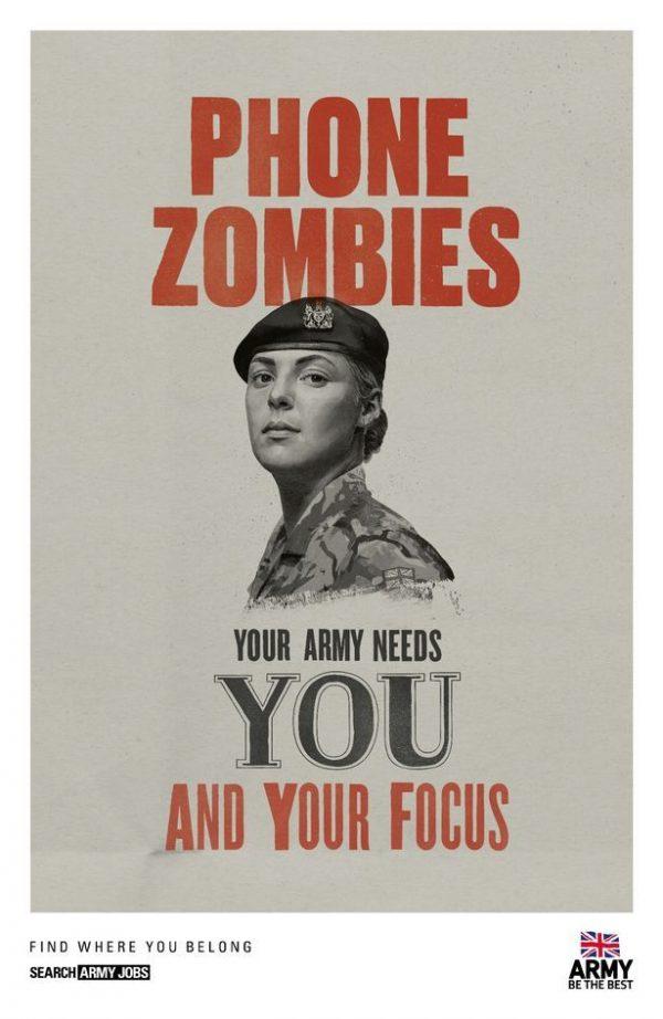Army recruitment campaign - 3 4
