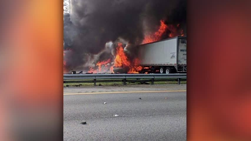Louisiana children among seven killed in fiery Florida crash