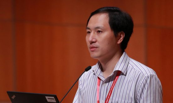 Scientist He Jiankui attends the International Summit on Human Genome Editing at the University of Hong Kong in Hong Kong, China on Nov. 28, 2018. (Reuters)