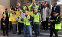 After Officer's Slaying, Yellow Vest Activists Urge Trump to End California's Sanctuary Policies
