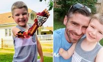 Dad Makes a Cool 3D 'Iron Man' Arm For Amputee Son, and He Totally Loves It