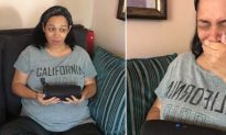Surprise Gender Reveal Gets Creative When Husband Uses Recording of Late Father-In-Law's Voice