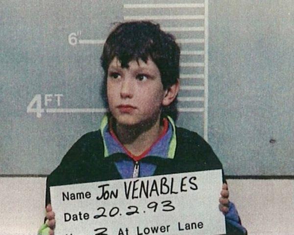 Jon Venables James Bulger killer