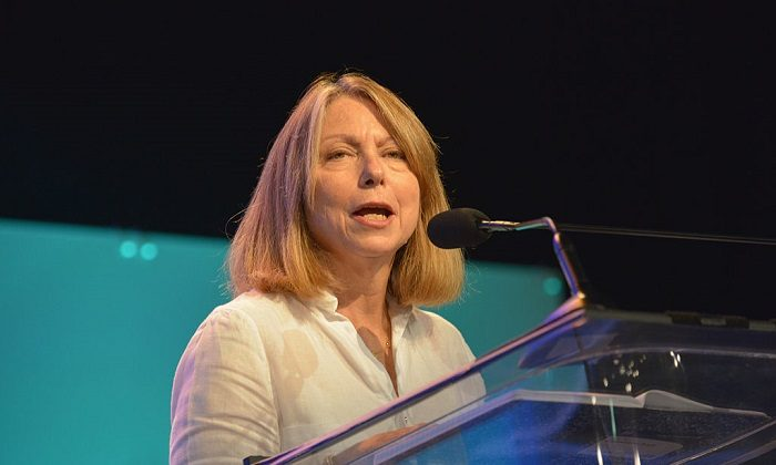Jill Abramson,at Philadelphia Convention Center on October 16, 2014 in Philadelphia, Pennsylvania.  (Photo by Lisa Lake/Getty Images for Pennsylvania Conference for Women)
