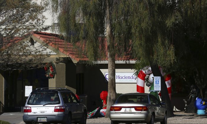 Hacienda HealthCare in Phoenix, Arizona on a Jan. 4, 2019. A woman in a vegetative state gave birth in a Hacienda facility on Dec. 29, 2018, prompting a sexual assault investigation. (Ross D. Franklin/AP Photo)