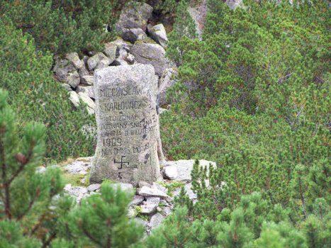 where Mieczyslaw Karlowicz died