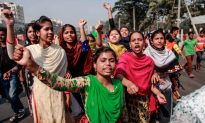 Bangladesh Police, Garment Workers Clash in Protests