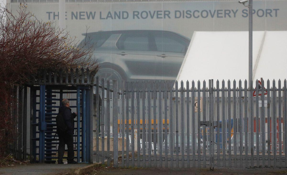 Jaguar Land Rover's Halewood Plant