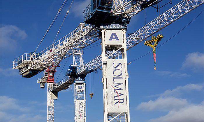 Under construction in the GTA. (Courtesy Scott Davie)