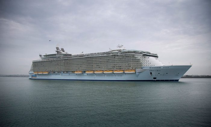 Royal Caribbean's Oasis of the Seas in a file photo in Southampton, England, on Oct. 15, 2014. (Matt Cardy/Getty Images)