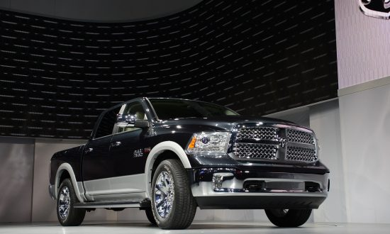 """Fiat Chrysler Automobiles will recall Dodge Ram 1500 (pictured) and Jeep Grand Cherokee diesel models that were installed with a """"defeat device"""" to cheat emissions tests. (Stan Honda/AFP/Getty Images)"""
