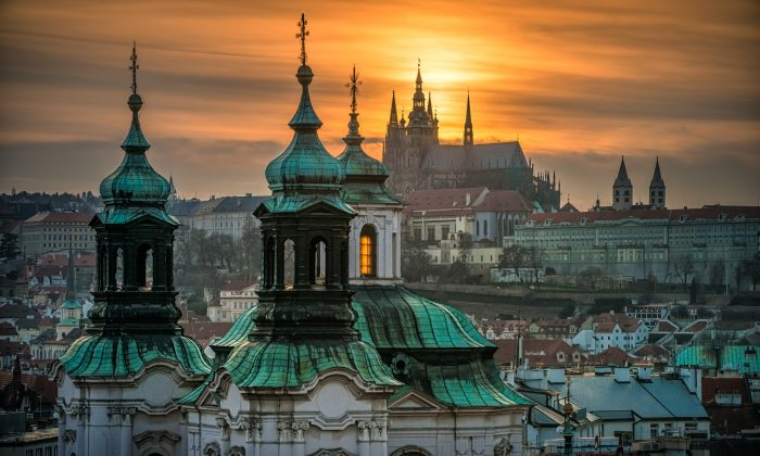 Prague Castle at sunset. (Prague City Tourism)