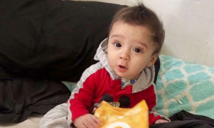 The San Antonio Police Department released this photo as they search for 8-month-old King Jay Davila, believed to be a victim of foul play. (San Antonio Police)
