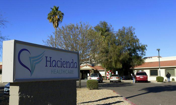Hacienda HealthCare in Phoenix, Ariz., on Jan. 4, 2019. An arrest was made in the case of a patient being raped on Jan. 23, 2019. (Ross D. Franklin/AP Photo)