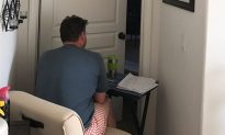 Daughter Tweets An Emotional Photo of Dad Sitting Outside Cancer-Stricken Mom's Bedroom