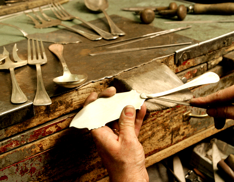 Cutlery restoration fork spoons