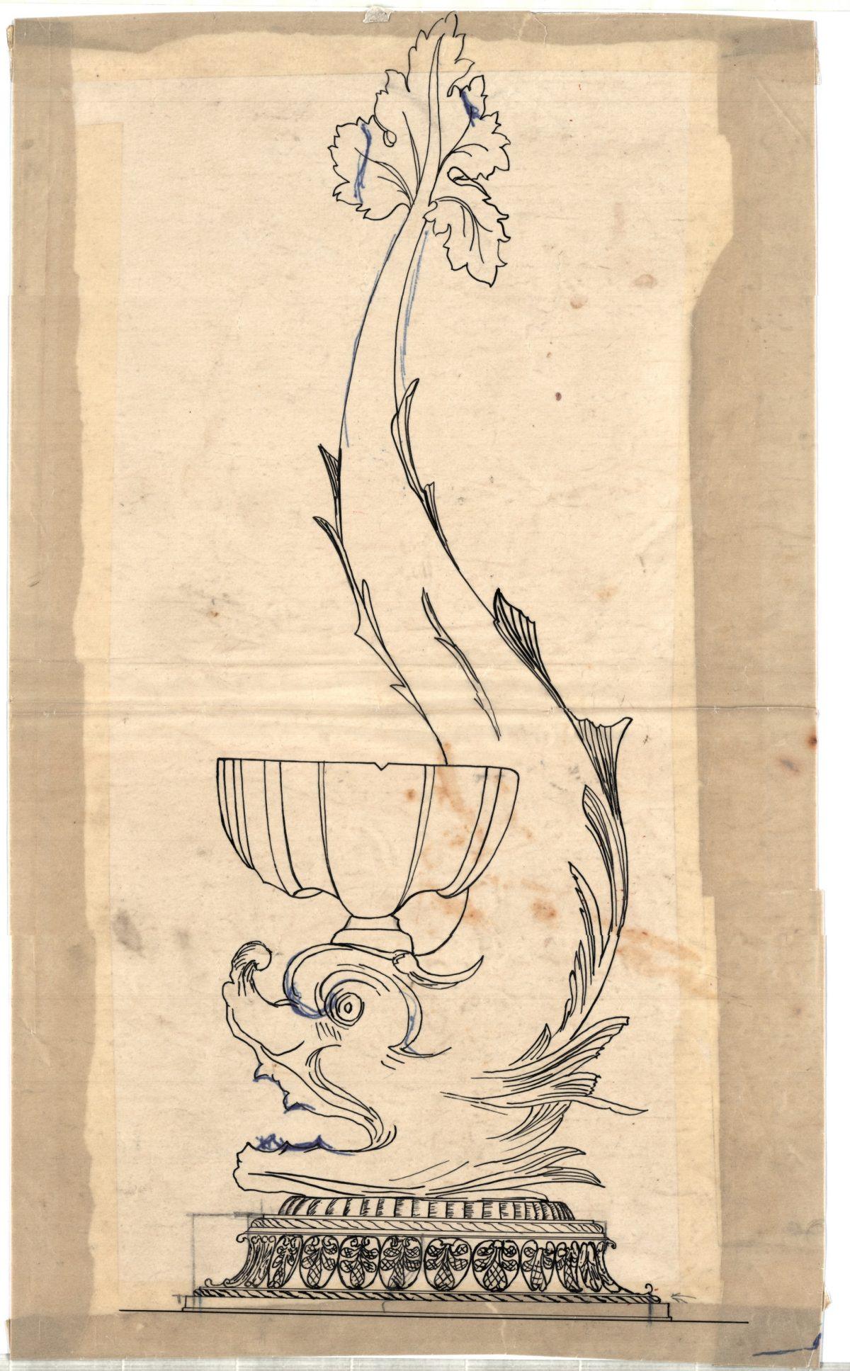 Dolphin Tritone Orlando Pagliai design