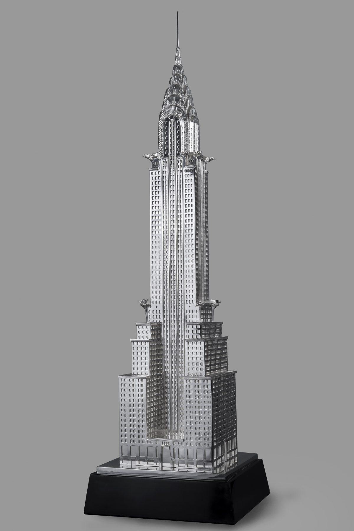 Chrysler building sterling silver