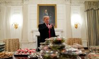 White House Serves College Football Champs Fast Food as Staff Remain on Furlough