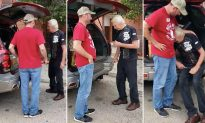 Homeless Army Veteran Reduced to Tears When Navy Vet Hands Him Keys to His New Car