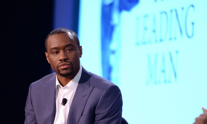 Marc Lamont Hill in New York City on June 20, 2014. (Andrew H. Walker/Getty Images)