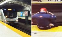 Train Worker Talks Man Out of Committing Suicide By Asking Commuters To Chant 'I Am Strong'