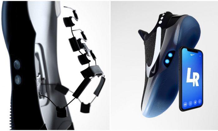 Nike Adapt BB, revealed on Jan. 15, 2019. (Nike)