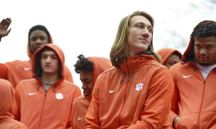 Clemson Quarterback Trevor Lawrence Says White House Meme Quote Is Fake