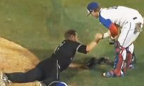 Player Puts True Sportsmanship on Display When Rival Pitcher 'Collapses' in Heartbreak