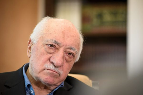 Turkish cleric Fethullah Gulen at his home