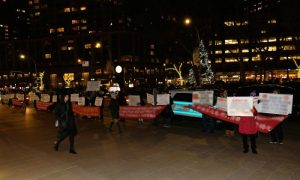 Beijing Front Group Protests Performance of Shen Yun at Lincoln Center