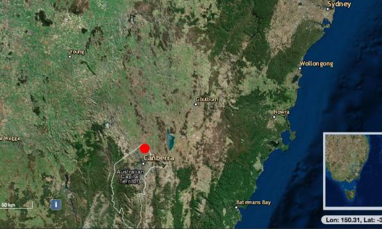 Mini Earthquake 3.1 Magnitude Hits Near Australian Capital