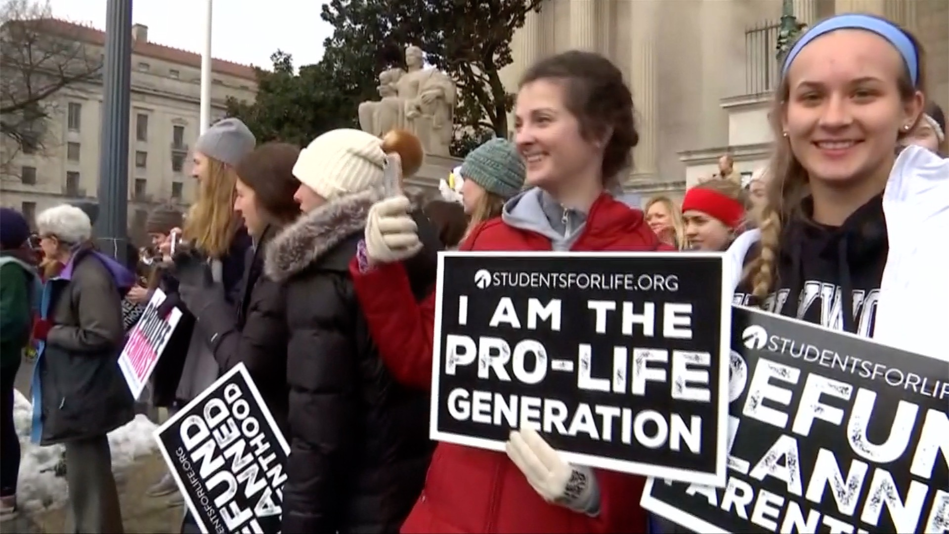 Videos of the Day: March-for-Life Rally Held in Washington