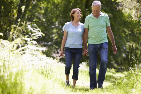 Walking can help prevent cancer