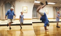 10-Yr-Old Tap Dancer Asks Grandpa To Be Her Recital Partner, And He Stuns Everyone