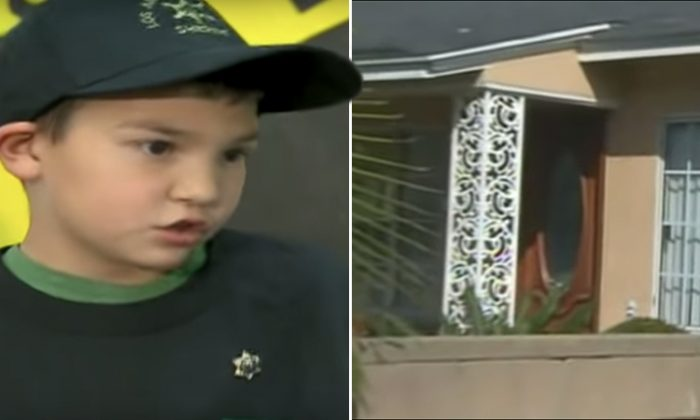 Brave 7-Year-Old Boy Grabs Sister And Calls 911 When Gunmen Barge Into House