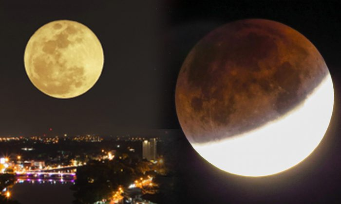 Supermoon Meets Total Lunar Eclipse for Celestial Spectacle