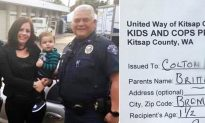 Single Mom's Tears Dry When Cops Hand Her a 'Slip Of Paper' For Her Son, Not a Ticket