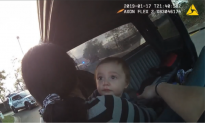 Police Pointing Guns Toward a 2-Year-Old? Bodycam Footage Instead Reveals Officer's Kindness