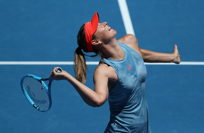 Maria Sharapova at Australian Open Tennis