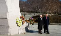 Videos of the Day: Trump and Pence Visit Martin Luther King Jr. Memorial