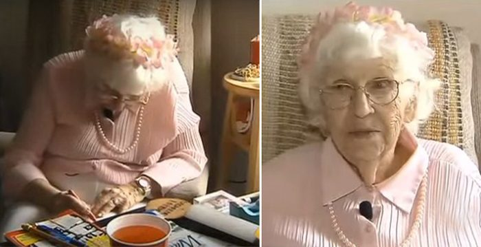 Woman, 94, Wants To Buy 5 Seconds TV time To Share 3 Words. When They See It, They Do It For Free
